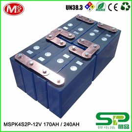 中国 Long cycle life lithium battery pack 12V 240Ah for electric vehicle or solar power system MSPK4S2P 代理店