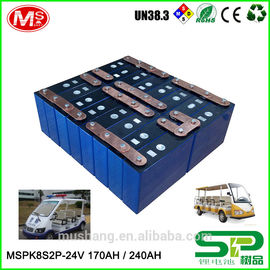 中国 High-efficiency rechargeable 24v100ah Lithium ion battery with PCM For Electric Sightseeing car 工場